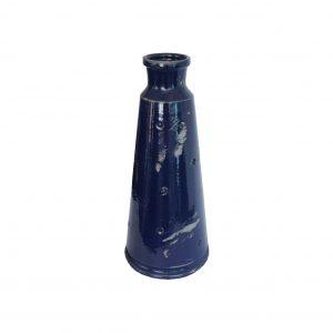 Vaso Cerâmica Azul Marinho