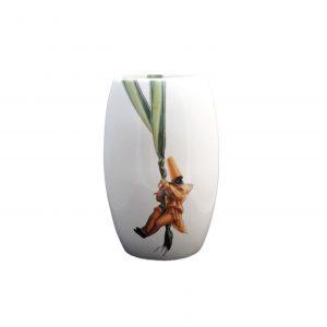 Vaso Porcelana Branco 41x26 - Nenna Barreto