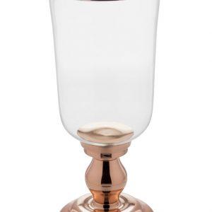 Castiçais Donzela vidro transparente