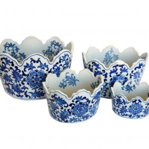 Conjunto de Vasos Floreira Saigon
